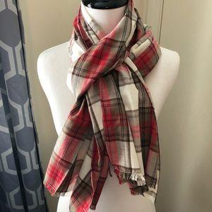 Gorjana plaid scarf 🧣